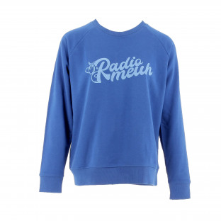 Sweat Femme RadioMeuh Electric Blue