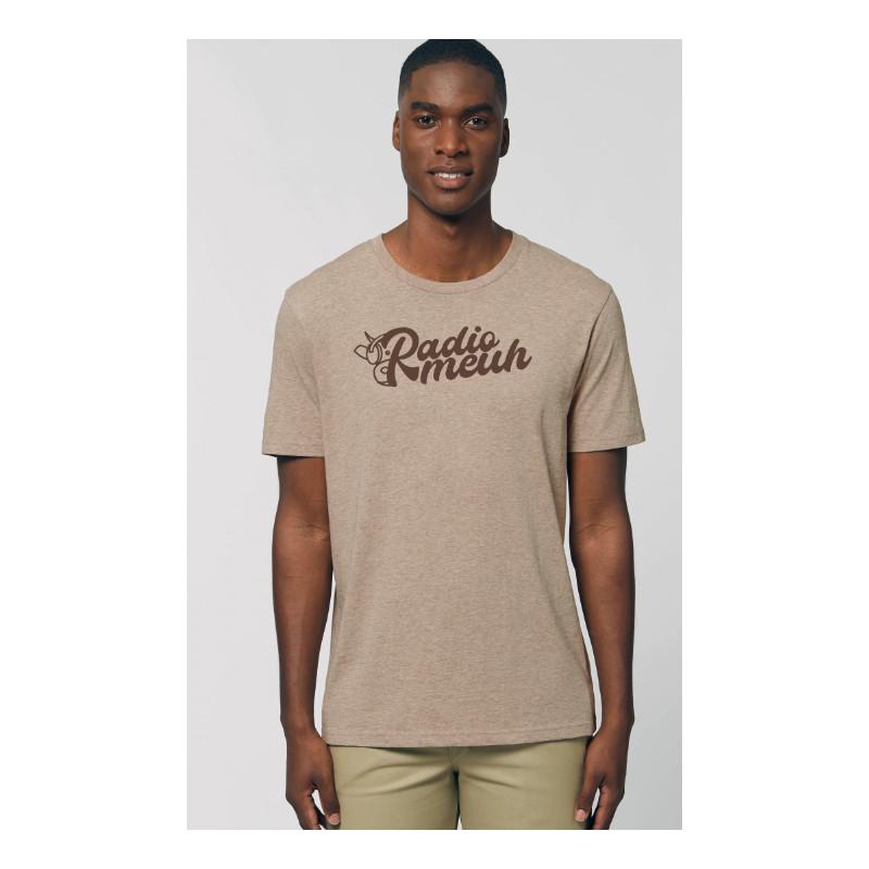 T-Shirt Uni - Radiomeuh Sable