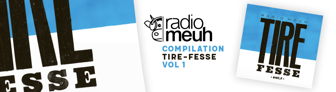 Tire Fesse Compilation Radio Meuh Vinyle